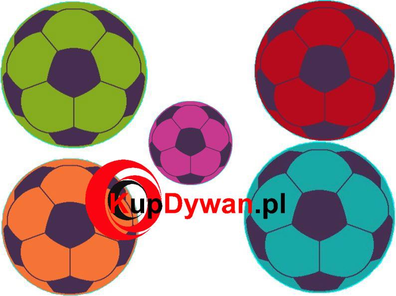 dywan piłka