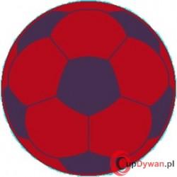 dywan JUPPI piłka czerwona