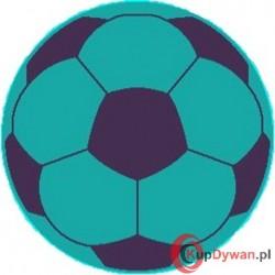 dywan JUPPI piłka niebieska