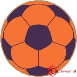 dywan JUPPI piłka pomarańcz