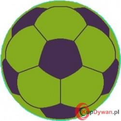 Dywan JUPPI piłka zielona