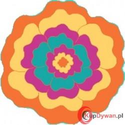 Dywan JUPPI kwiatek orange