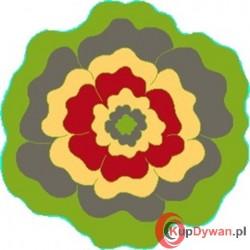 Dywan JUPPI kwiatek green