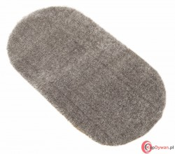 Dywan owalny PUFFY grey